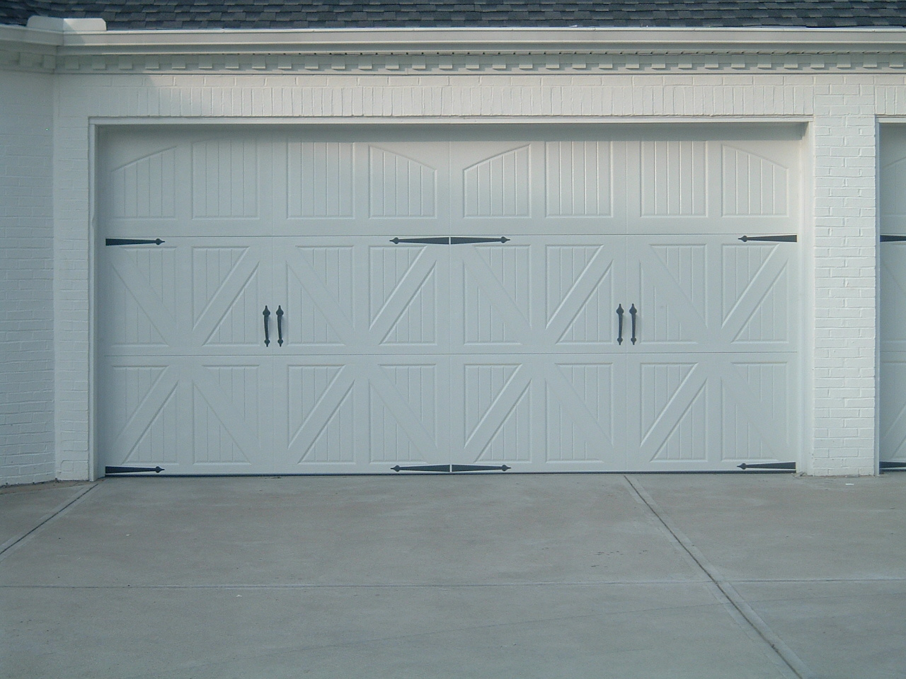 960 #303F47  PROJECT. THE COMPLETE PROJECT INCLUDED THREE DOORS TOTAL INCLUDING wallpaper Complete Garage Doors 36251280